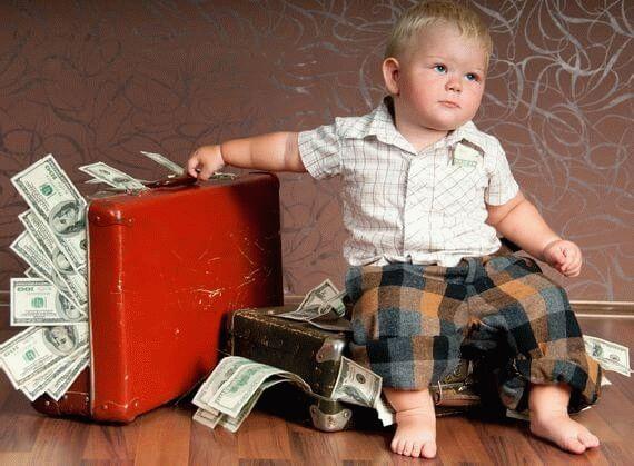 Когда рождается 3 ребенок сколько денег дают правительства